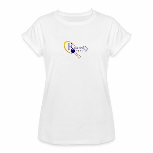 Racquetball Ontario branded products - Women's Relaxed Fit T-Shirt