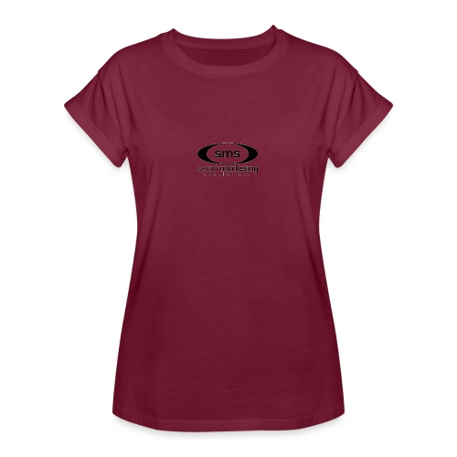 SMS Black Logo - Women's Relaxed Fit T-Shirt