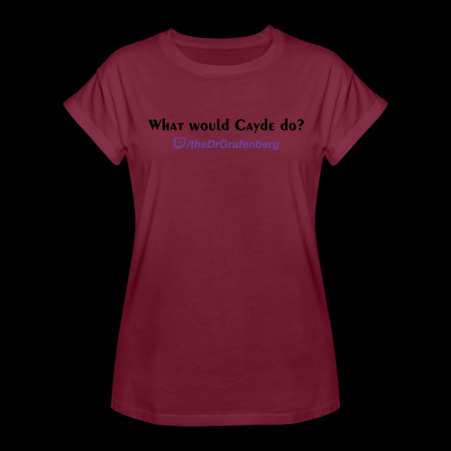 Cayde Tshirt Text - Women's Relaxed Fit T-Shirt