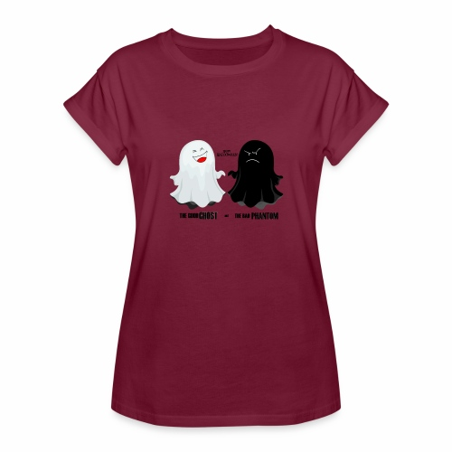 THE GOOD GHOST AND THE BAD PHANTOM - Women's Relaxed Fit T-Shirt
