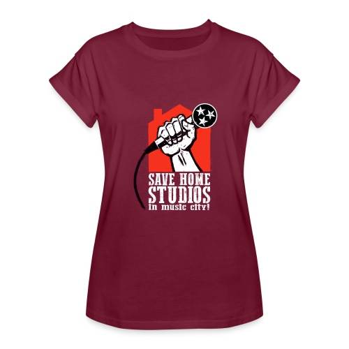 Save Home Studios In Music City - Women's Relaxed Fit T-Shirt