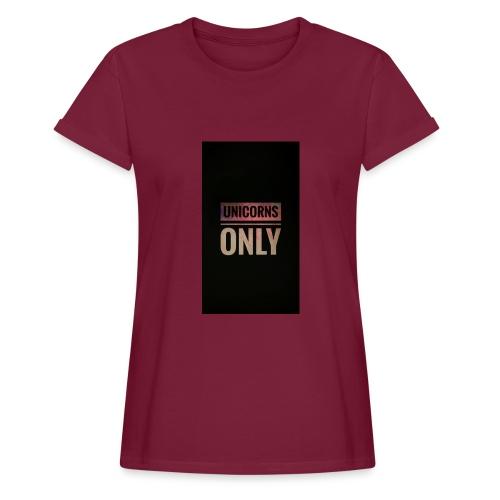unicorns - Women's Relaxed Fit T-Shirt