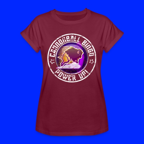 Vintage Stampede Power-Up Tee - Women's Relaxed Fit T-Shirt