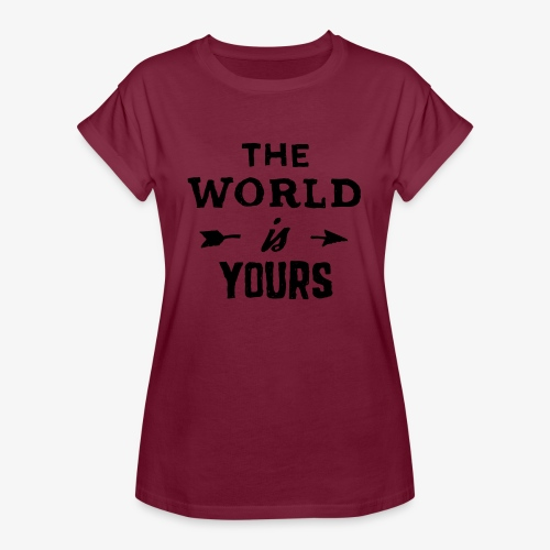 the world - Women's Relaxed Fit T-Shirt