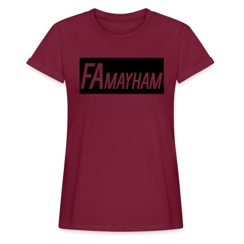 FAmayham - Women's Relaxed Fit T-Shirt