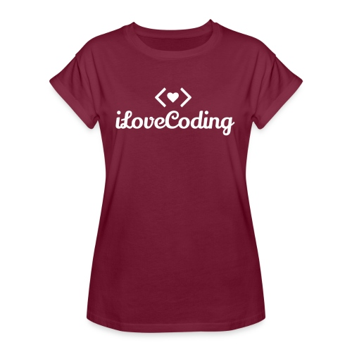 I Love Coding - Women's Relaxed Fit T-Shirt