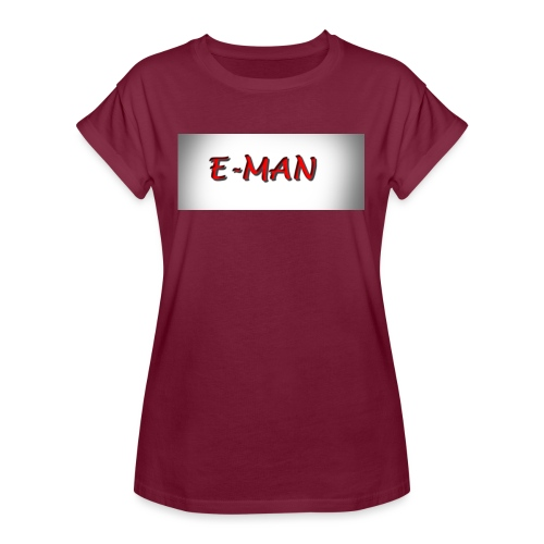 E-MAN - Women's Relaxed Fit T-Shirt