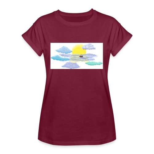 Sea of Clouds - Women's Relaxed Fit T-Shirt