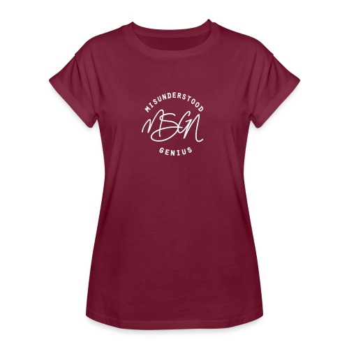 MSGN Logo - Women's Relaxed Fit T-Shirt