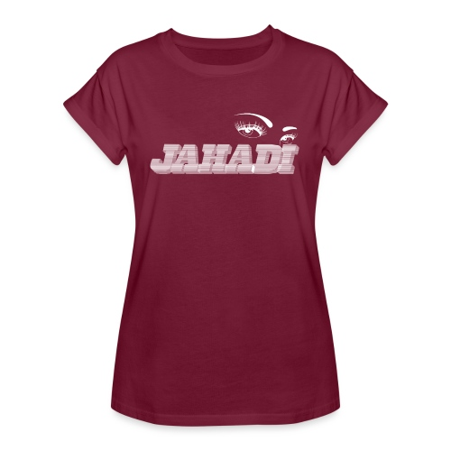 hadilogoWHITE - Women's Relaxed Fit T-Shirt