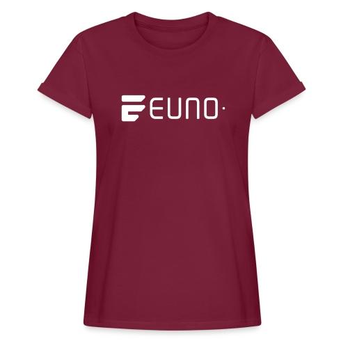 EUNO LOGO LANDSCAPE WHITE - Women's Relaxed Fit T-Shirt