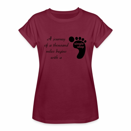 Single Step - Women's Relaxed Fit T-Shirt