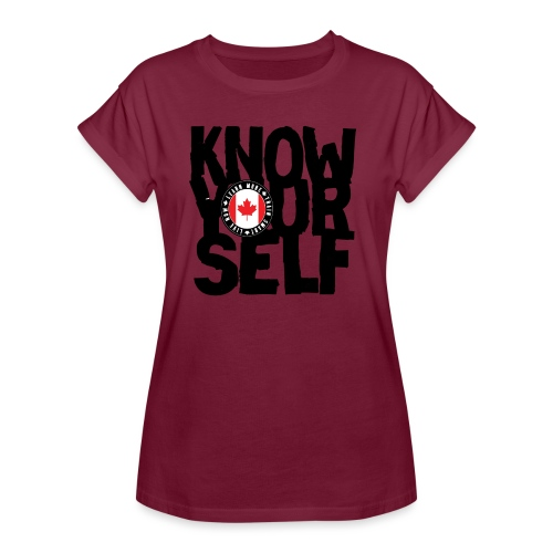 know black - Women's Relaxed Fit T-Shirt