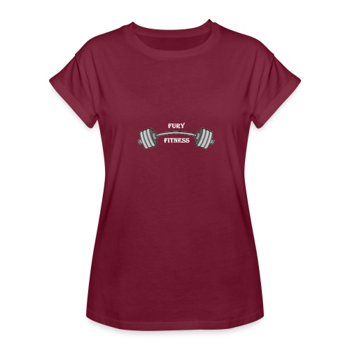 Fury Fitness - Women's Relaxed Fit T-Shirt