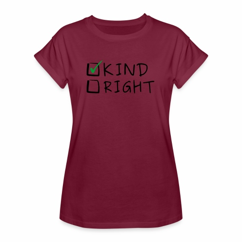 Choose Kind Anti-Bullying - Women's Relaxed Fit T-Shirt
