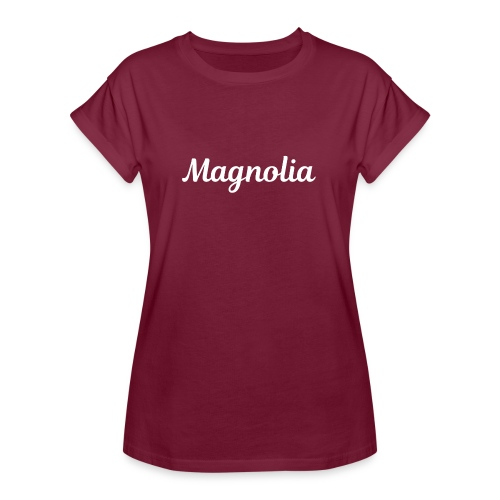 Magnolia Abstract Design. - Women's Relaxed Fit T-Shirt