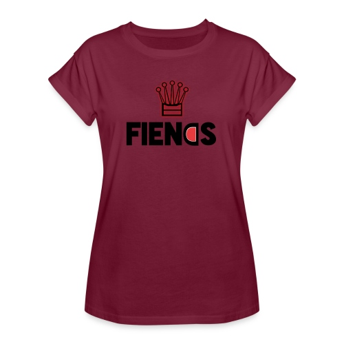 Fiends Design - Women's Relaxed Fit T-Shirt
