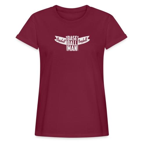 Baseball Man - Women's Relaxed Fit T-Shirt