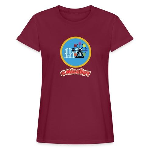 Paradise Pier Explorer Badge - Women's Relaxed Fit T-Shirt