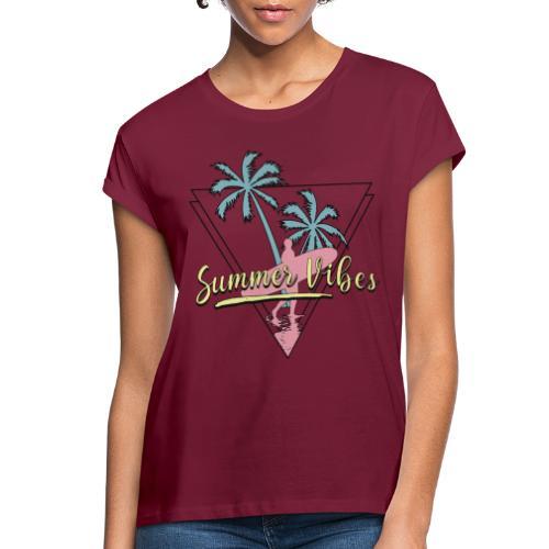summer vibes - Women's Relaxed Fit T-Shirt