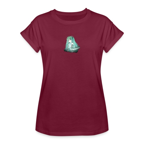 Summrrz Logo Transparent - Women's Relaxed Fit T-Shirt