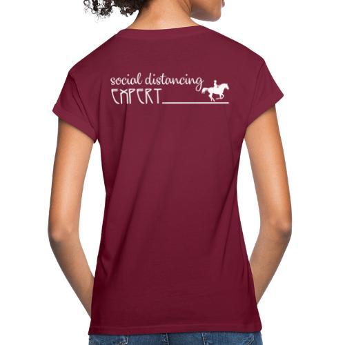 Social Distancing Expert - Women's Relaxed Fit T-Shirt
