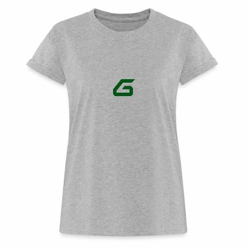 The New Era M/V Sweatshirt Logo - Green - Women's Relaxed Fit T-Shirt
