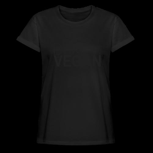 Blk. Vegan - Women's Relaxed Fit T-Shirt