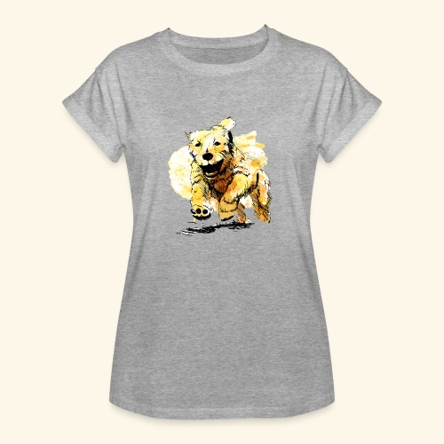 oil dog - Women's Relaxed Fit T-Shirt