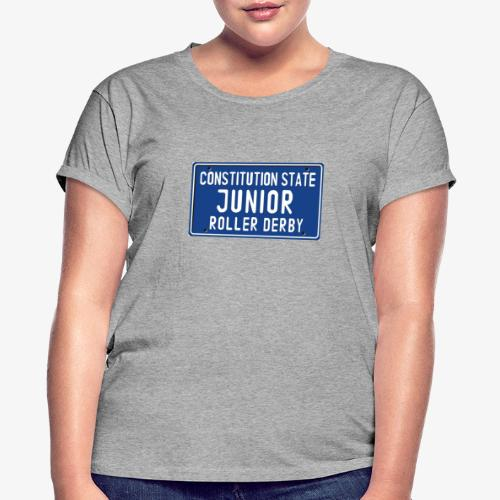 Constitution State Junior Roller Derby - Women's Relaxed Fit T-Shirt