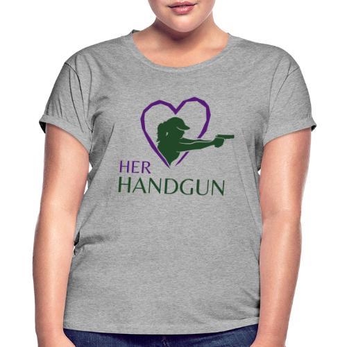 Official HerHandgun Logo - Women's Relaxed Fit T-Shirt
