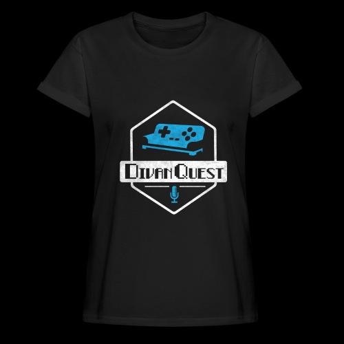 DivanQuest Logo (Badge) - Women's Relaxed Fit T-Shirt