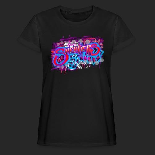 Sneakers Graffiti Design - Women's Relaxed Fit T-Shirt