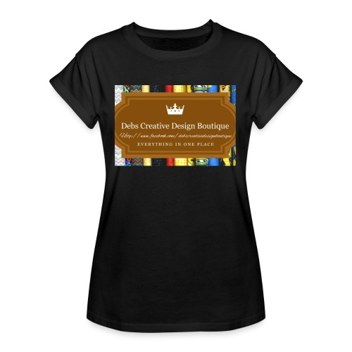 Debs Creative Design Boutique with site - Women's Relaxed Fit T-Shirt