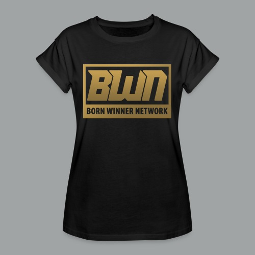 BWN (Gold) - Women's Relaxed Fit T-Shirt