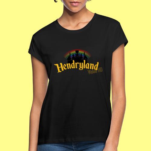 HENDRYLAND logo Merch - Women's Relaxed Fit T-Shirt
