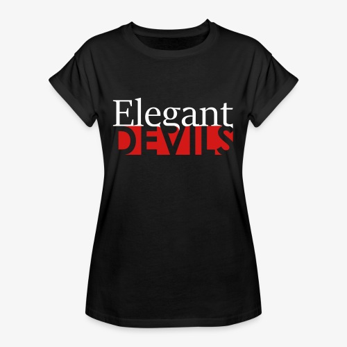 Logo White / Pink - Women's Relaxed Fit T-Shirt