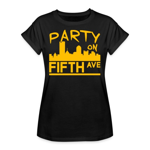 Party on Fifth Ave - Women's Relaxed Fit T-Shirt
