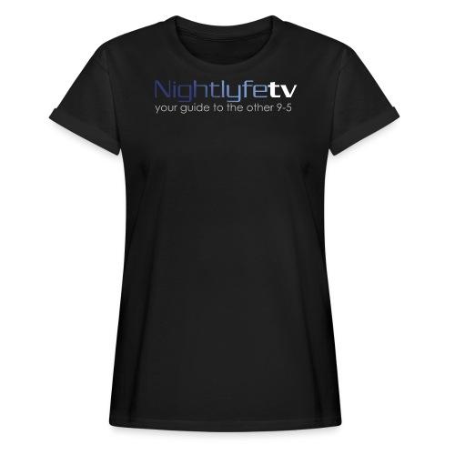 NTV Logo Full - Women's Relaxed Fit T-Shirt
