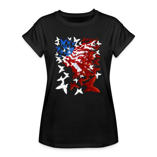 The Butterfly Flag - Women's Relaxed Fit T-Shirt