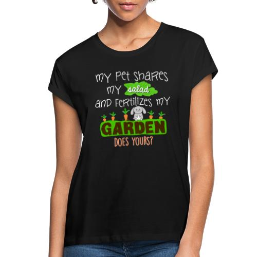 Bunny Benefits - Women's Relaxed Fit T-Shirt