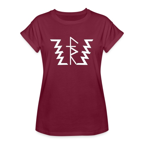Faith Runnerz Tee Logo - Women's Relaxed Fit T-Shirt