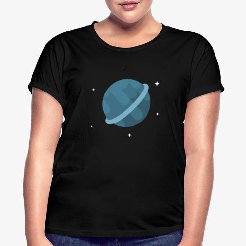 Tiny Blue Planet - Women's Relaxed Fit T-Shirt