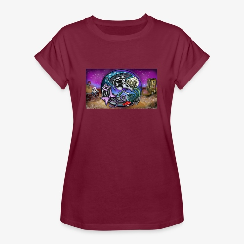 Mother CreepyPasta Land - Women's Relaxed Fit T-Shirt