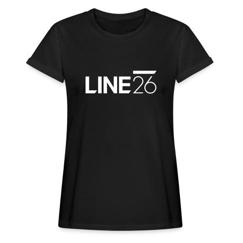 Line26 Logo (Light Version) - Women's Relaxed Fit T-Shirt