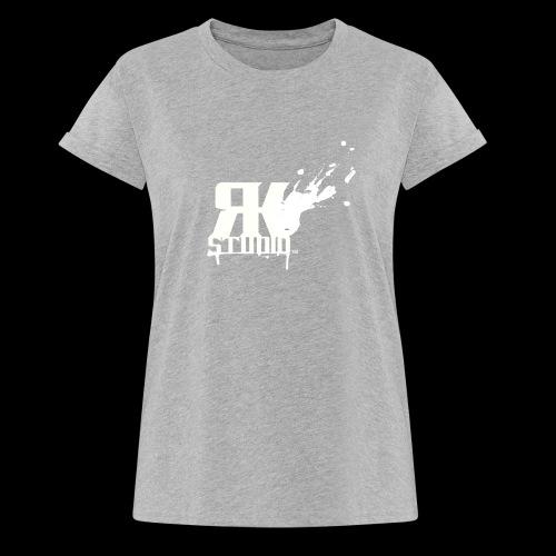 RKStudio White Logo Version - Women's Relaxed Fit T-Shirt