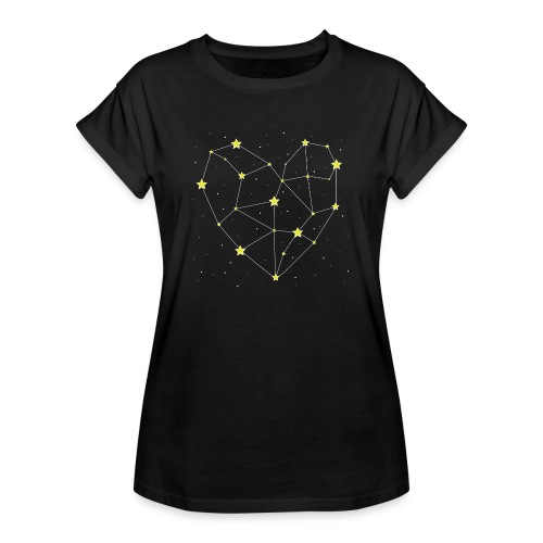 Heart in the Stars - Women's Relaxed Fit T-Shirt