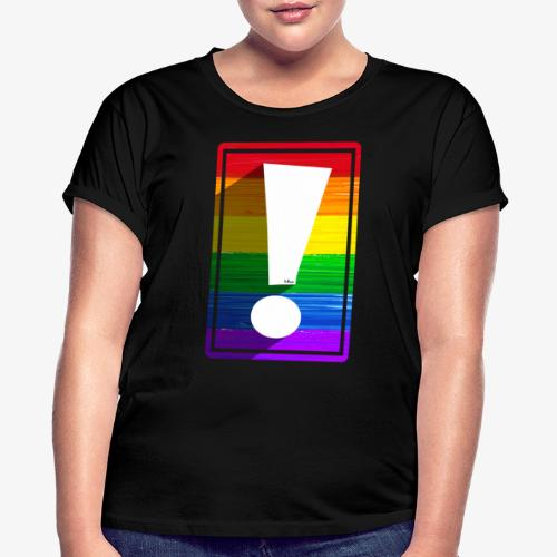 LGBTQ Pride Exclamation Point - Women's Relaxed Fit T-Shirt