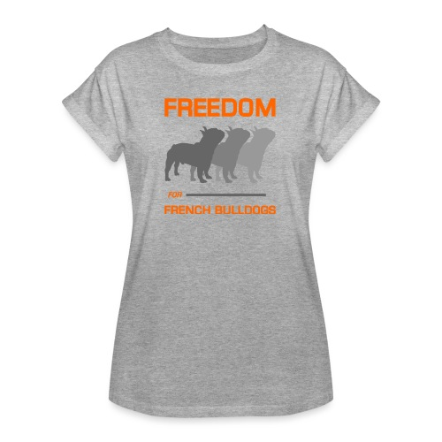 French Bulldogs - Women's Relaxed Fit T-Shirt