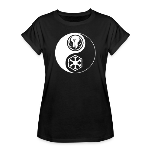 Star Wars SWTOR Yin Yang 1-Color Light - Women's Relaxed Fit T-Shirt